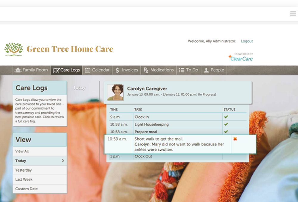 Care Transparency Green Tree Home Care