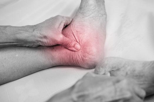 elderly foot care
