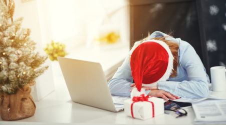 caregiver stress holidays