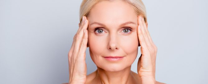 skin care routine older adults