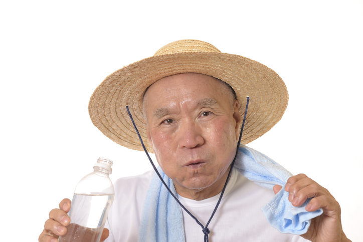 staying cool this summer dehydration in elders