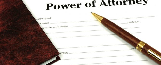 what is a power of attorney