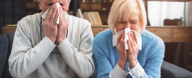 Pneumonia in the elderly. What caregivers can do to prevent it.