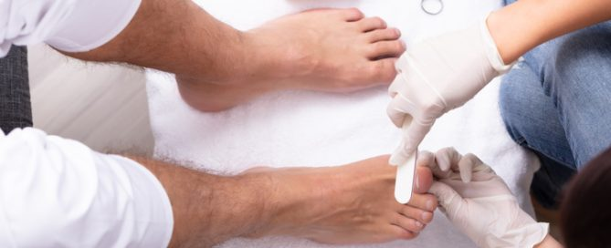 foot and nail care for your loved one who is diabetic