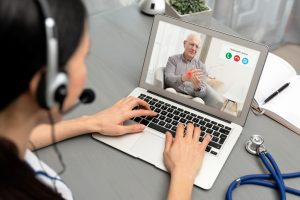 telehealth services for the elderly under Medicare during the COVID-19 pandemic
